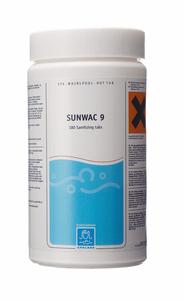 Bilde av SpaCare Sunwac 9, 180 klor tabletter